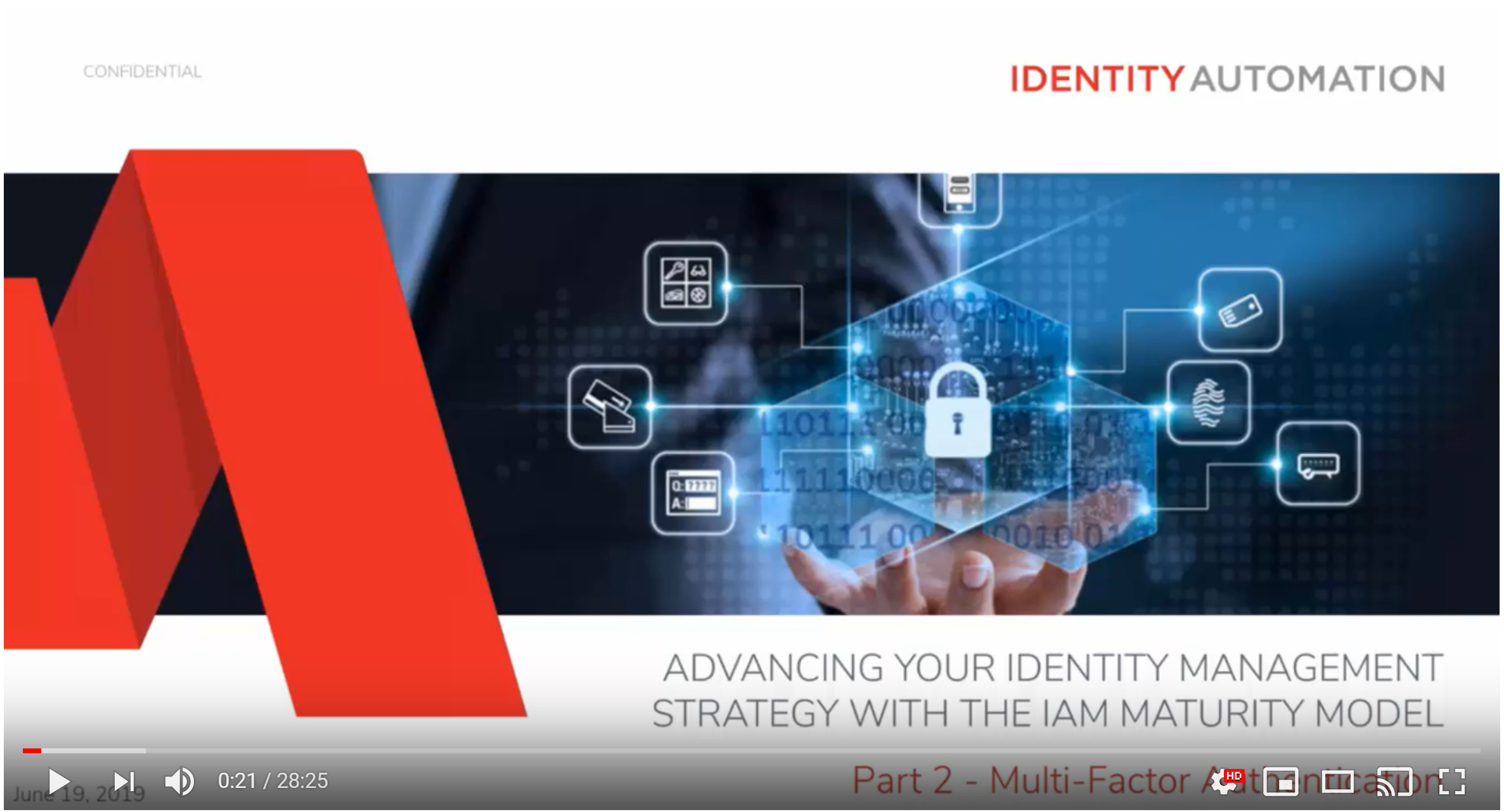 Advancing Your Identity Management Strategy with the IAM Maturity Model, Part 2 - MFA