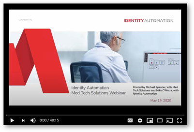 Med Tech Solutions Partner Webinar Thumbnail Screenshot Video