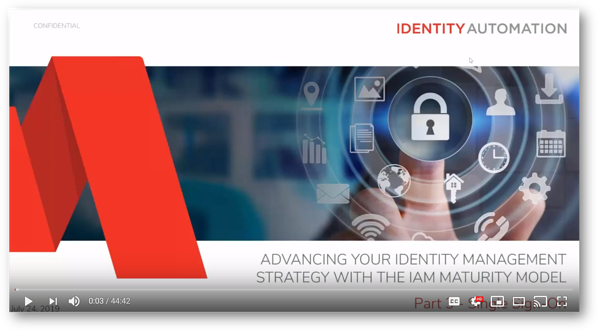 Advancing Your Identity Management Strategy with the IAM Maturity Model, Part 3 - Single Sign-On